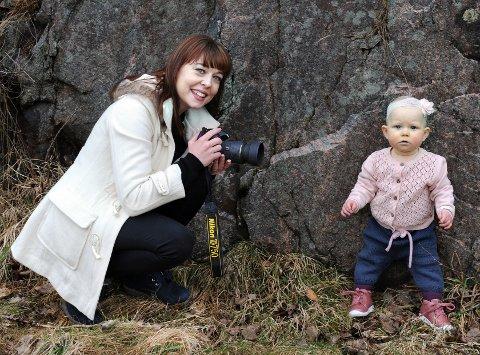 Miriam Skeide Brandstad driver sin egen fotobedrift.