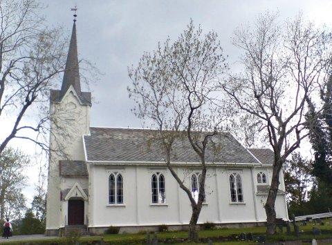 Fest:  Gjemnes kirke har gjort tjeneste i 125 år. Det skal feires.