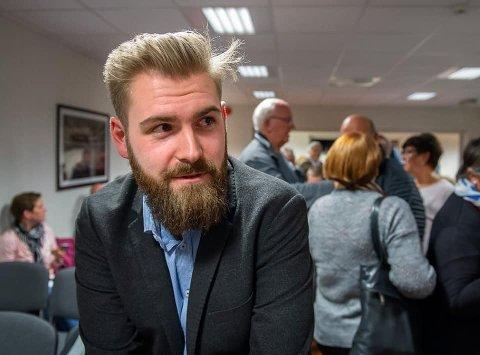 NY ORDFØRER: Onsdag kveld ble det bekreftet at Stian Olafsen fra Arbeierpartiet blir Vestre Totens nye ordfører.