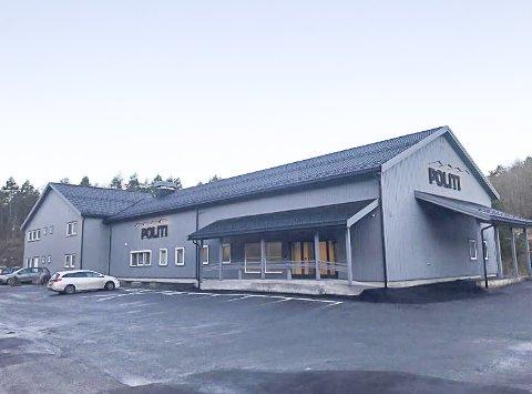 Dette er det nye hovedkontoret til Holt lensmanndistrikt.