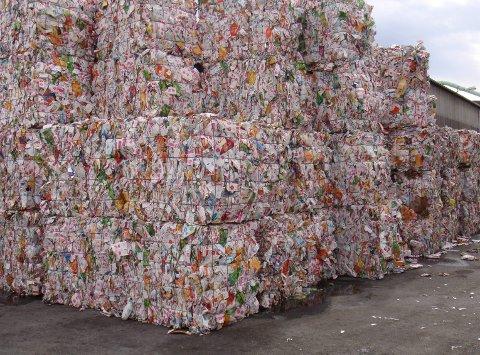 Plastberg: Plast som resirkuleres er miljøvennlig, men all plasten som havner i naturen skaper problemer for både mennesker og dyr, og plast i havet er et kjempeproblem.