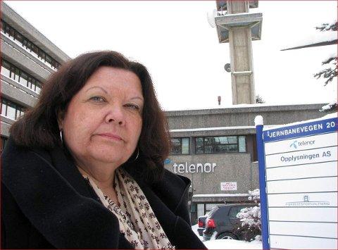 På Fagernes: I 2010 var Anne-Karin Sogn på Fagernes for å fortelja 75 teletilsette at dei måtte gå. No har ho vorte einig med styret i Fjellinjen AS om å gå av som direktør.