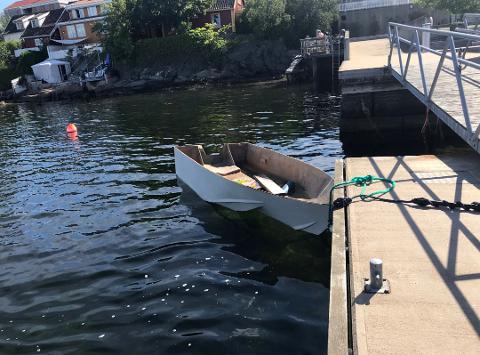 Båten ligger nå i Drøbak.