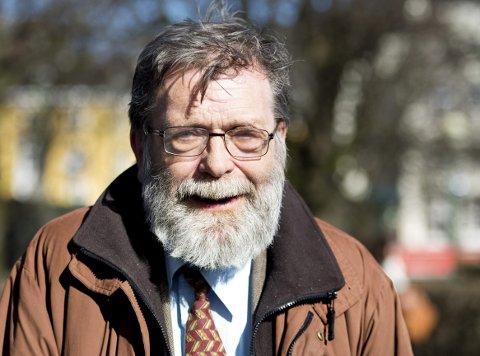 Jubilant: I dag fyller professor i sammenlignende politikk, Frank Aarebrot 70 år. Samtidig lanserer han det neste maratonprosjektet i samarbeid med NRK.Arkivfoto: Rune Johansen