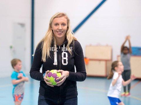 Sara Stokken Rott har jobbet mye for barn og unge i Kalandseid IL. Nå studerer hun idrettsvitenskap med NTNU i Trondheim, og kan bli styremedlem i NIF. Arkivfoto: Rune Johansen