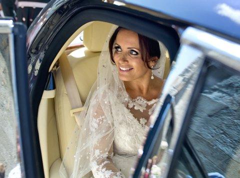 Louise Mohn, her fra sitt eget bryllup.