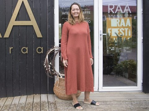 Rikke Traae har planer om å løfte den nye festiavlen i Fana til nye høyder nest år. Arkivfoto