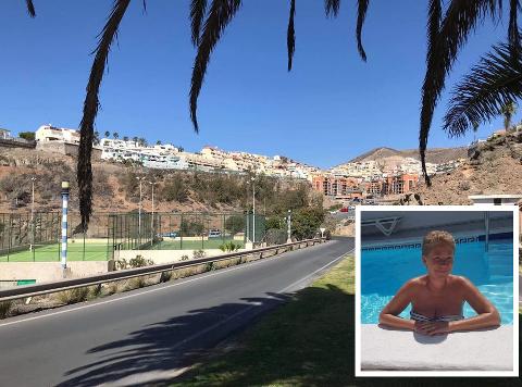 TOMME GATER: Elisabeth Arnesen fra Røyken forteller om en annerledes hverdag på Gran Canaria. Det er innført portforbud i landet.