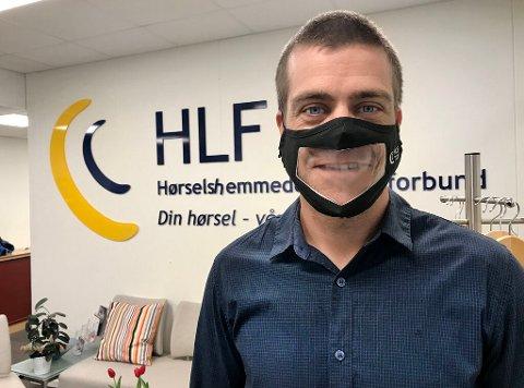 Henrik Peersen er generalsekretær i Hørselshemmedes Landsforbund.