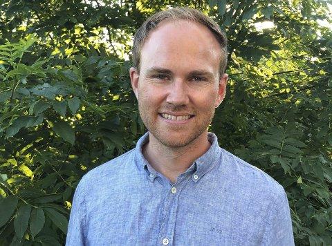 HÅPER: Anders Madland Størdal håper på nok stemmer til å komme inn i kommunestyret.