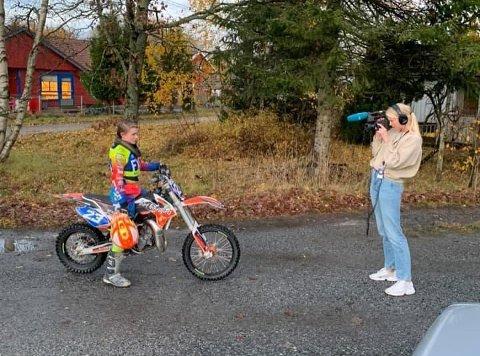 Vilde Cecilie Partyka ble fulgt av NRK Super en hel dag og nå ligger programmet på nett-TV og i kveld vises det på Supernytt.