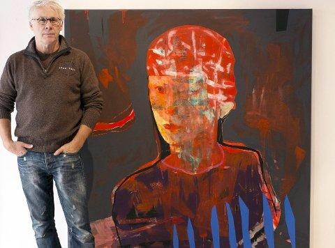 Nye bilder: Dette maleriet har Erik Formoe allerede solgt til en kvinnelig kunstsamler i USA. Bilde vises nå i Galleri Ramfjord i Oslo. Utstillingen varer frem til 22. november.