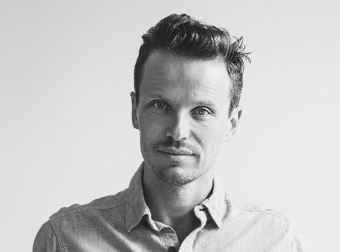 Festivalkunstner: Andreas Ihlebæk fra Fredrikstad urfremfører sitt nye konseptalbum «The Guest» i Østre Fredrikstad kirke 20. juli.Foto: Kine Jensen