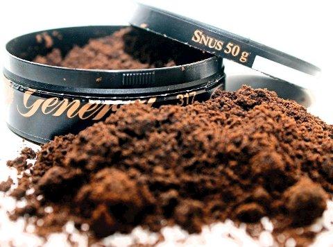 FRIKJENT: En ny studie fastslår at det er umulig å knytte bruk av snus til dødsfall.