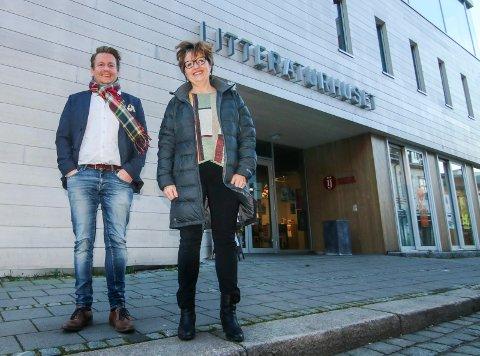 Kom og si noe: Ole-Henrik Holøs Pettersen og Toril Mølmen håper de kulturengasjerte melder seg på og gir innspill rundt kulturen 28. og 29. november.