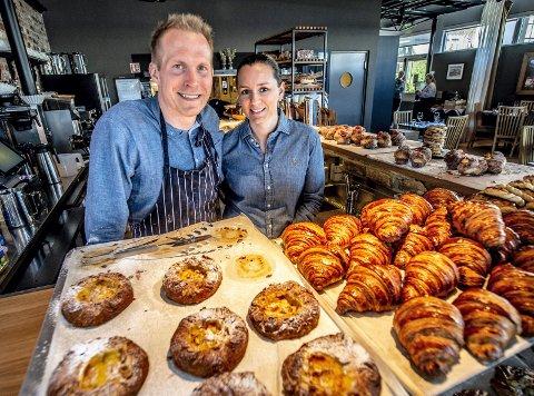 Tobias Gustafsson eier og driver Bacfickan sammen med Ingeborg Nygaard.