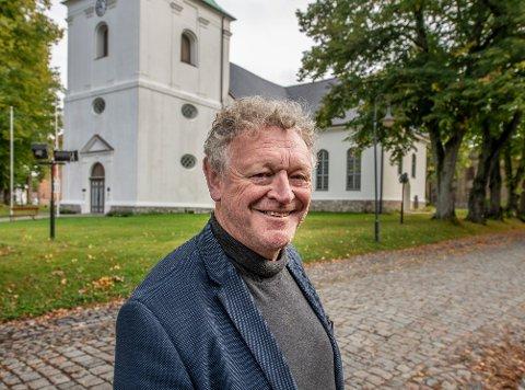 Wiggo Andersen smiler bredt, for på fredag kan han endelig arrangere festival uten restriksjoner.