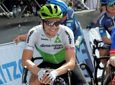 Edvald Boasson Hagen forsvarte ledertrøya etter å ha kjørt inn til sjetteplass på den andre etappen i Volta à la Comunitat Valenciana.