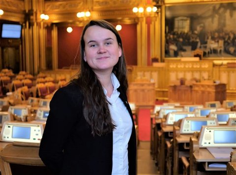 Stortingsrepresentant, Marit Knutsdatter Strand, stiller flest spørsmål og er mest på talerstolen fra Opplandsbenken.