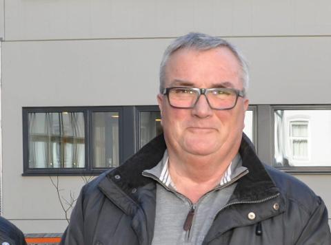 IKKE TEMA: - Det som skjer i Råde Frp, er ikke noe tema hos oss i Halden, sier Frps gruppeleder Per Egil Evensen.