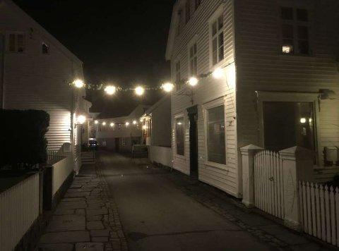 UTEN DEKNING: Skudeneshavn sentrum er uten dekning mandag. Foto: Egil Houeland