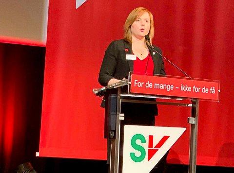 Begeistret: Åshild Pettersen var på SVs landsmøte i helga. Der ble hun begeistret over den næringspolitiske plattformen som ble vedtatt.