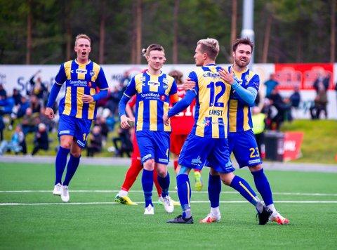 Alta IF kan juble etter nok en sterk seier i  2020-sesongen. Denne gangen borte mot Fløya.