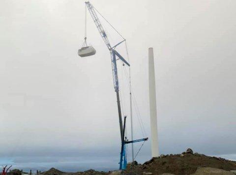 GJØR PLASS TIL NYE VINDMØLLER: Konsesjonen til Arctic Wind AS er til 31.12 2051 på Havøygavlen.