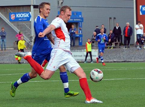 Didrik Mostue smalt inn en fantastisk scoring mot FUVO i vår.