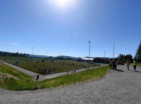 FÅR PENGER: Skrim idrettspark i Kongsberg får 797.000 kroner.