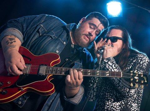 AMERIKANSK BLUES: Nick Moss og resten av bandet er på norgesturné nå. Onsdag 5. september spiller de i Christians kjeller.