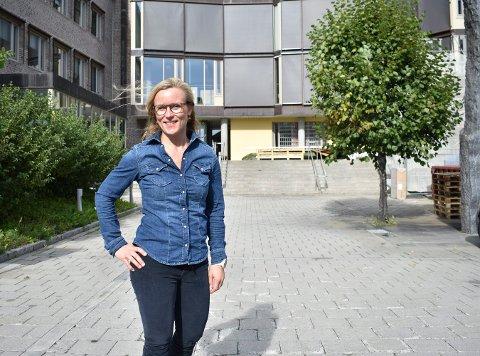 """Line Spiten er glad for at hun som dame med små barn og med erfaring fra organisasjonslivet blir satt pris på av velgerne. - Det viser at også andre """"som meg"""" kan komme inn i politikken, mener hun."""