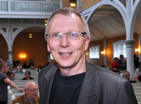 Knut Kirkesæther: Tilbake som daglig leder for Link. Både han og styret er fornøyd med festivalen 2014. Link