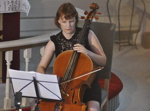 Festivalsjef: Lisa Isabel Holstad er fra Moskenes og leder festivalen som feirer fem år og rundes av i helga.