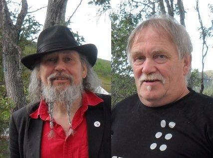 Odd Vingmyr Nicolaysen og Einar Berg-Hansen