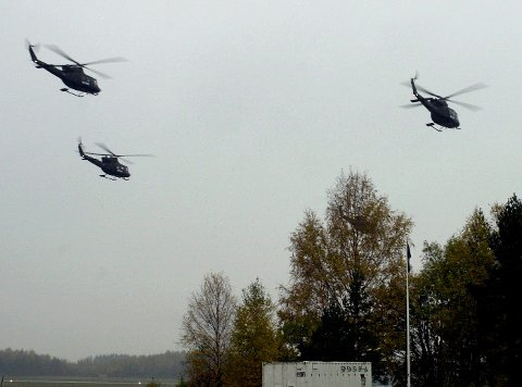 ALT PÅ ETT STED: Regjeringen vil i løpet av formiddagen foreslå at 339-skvadronen flyttes til Rygge. Med det kommer ny aktivitet til flyplassen.