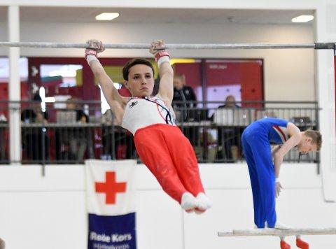 BRA INNSATS: Magnus kjempet seg til en sjetteplass individuellt i helgen. Han ble også tatt ut på juniorlandslaget i år.