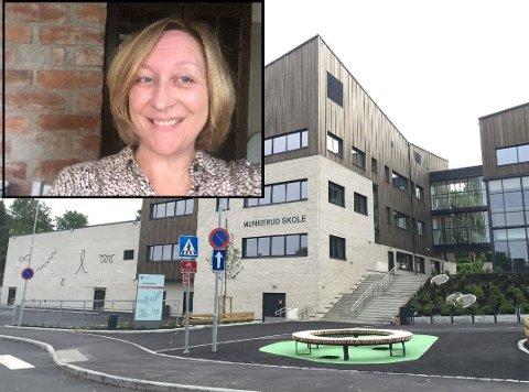 På Munkerud skole søker de ny rektor. Wenche Savalov er grunnskoledirektør i Utdanningsetaten.