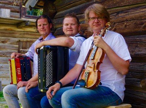 Inge Gjevre, Mads Erik Odde og Vegar Vårdal.