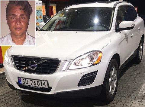 EKKELT Å TENKE PÅ: Lørdag morning oppdaget Ole Kristian Steien og samboeren at bilen deres var stjålet. Han synes det er ekkelt å tenke på at noen har tatt seg inn i leiligheten for så å stjele bilnøkler og bilen.