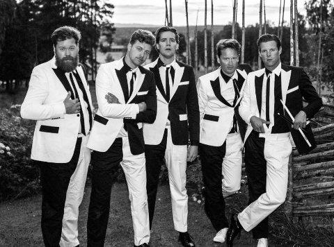 BUKTA-KLARE: Svenske The Hives spiller på Buktafestivalen til sommeren.