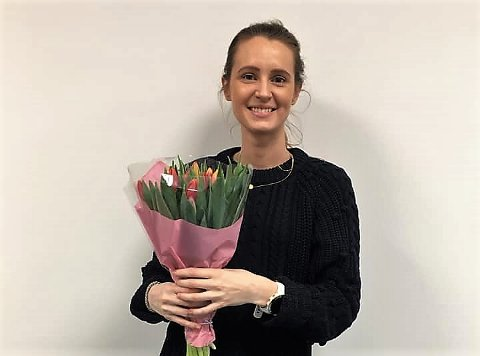 NY JOBB: Marthe Flovik (31) blir ny assisterende rektor ved privatskolen Norges Toppidrettsgymnas i Tromsø, som er i en vekstfase med etableringen av NTG-U (ungdomsskole) som blir komplett fra neste høst.