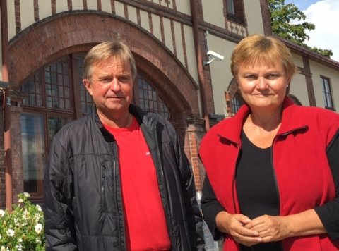 AP-REPRESENTANTER: Rigmor Aasrud og Tore Hagebakken kritiserer blant annet regjeringen for manglende satsing på bredbånd. ARKIVBILDE