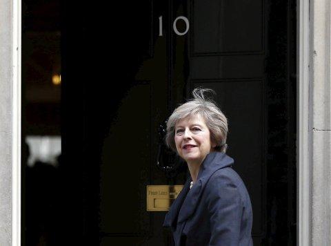 BREXIT: Statsminister Theresa May får en vanskelig jobben med å forhandle Storbritannia ut av EU.