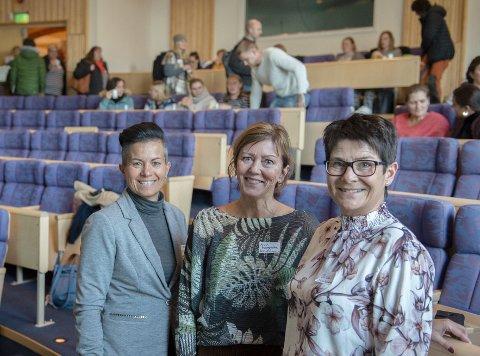 IGANGSETTERE:  Kristin Skibenes, (f.v) Anne Margrethe Lund og Hilde Dahl Lønstad