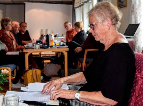 TALTE IMOT: Eldrerådets Sissel Homb Røisli talte imot kommunens ønske om å avslutte ordningen med utkjøring av middagsmat til hjemmeboende.