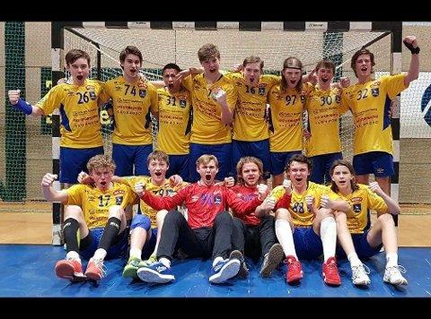 Ski-gjengen som tok full pott i den første runden i Bringserien.