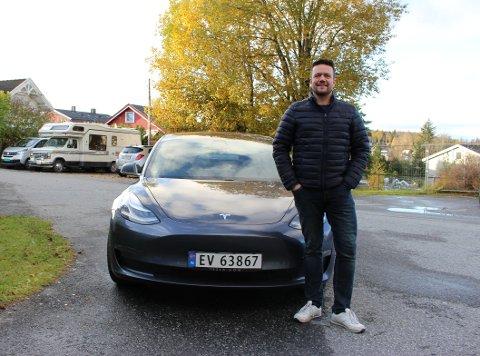 VINN-VINN: For Tom-Erik von Krogh-Martinsen tar mer enn gjerne med seg passasjerer inn til Oslo.