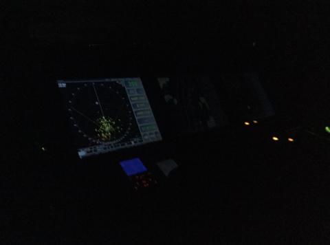 RYKKET UT: RS Elias og Redningsselskapet har lagt ut dette bildet i forbindelse med nattens oppdrag i Drøbak.