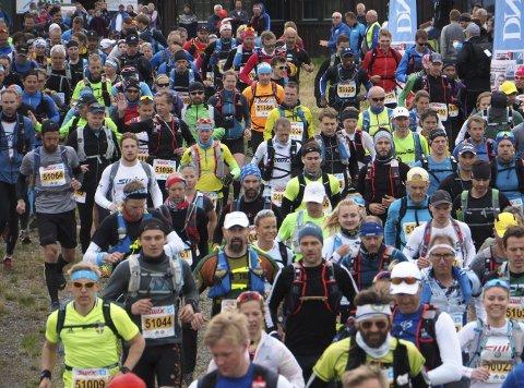 BURSDAGSLØP: Birken jubilerer og feirer 20 år. Det skal feires med rundt 8.500 ivrige løpere i ulik alder ute i løypenettet. Foto: Geir Olsen